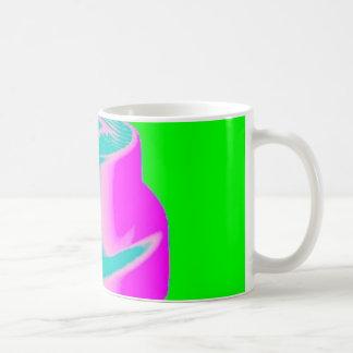 Fluro Cap Mug Green