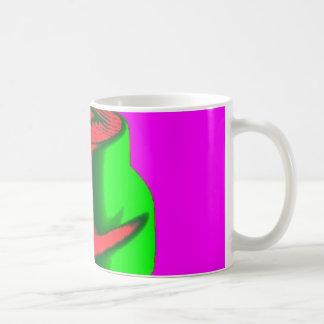 Fluro Cap Mug Pink