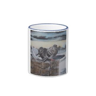 Flurries Ringer Mug