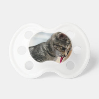 Flurry with Mouse Pacifier