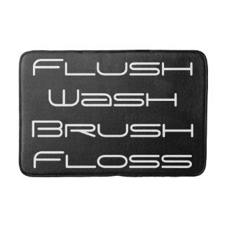Flush and Wash Bath Mat