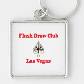 Flush Draw Club Las Vegas Key Chain