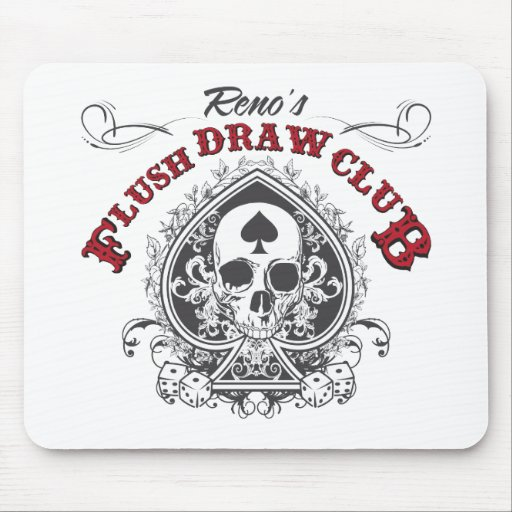 Flush Draw Club Mouse Pad