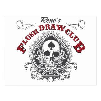 Flush Draw Club Postcard