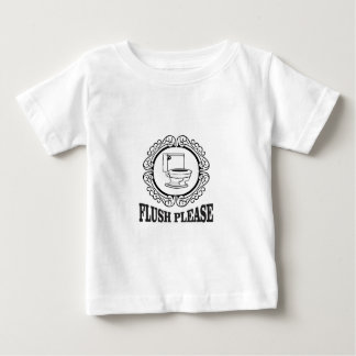 flush please sign round baby T-Shirt