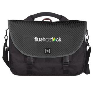 flushasfck - soshinoya del jdm en falsa fibra de bolsas de portatil