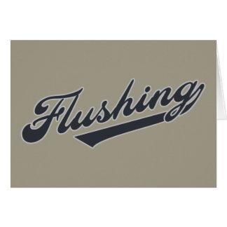 Flushing Card