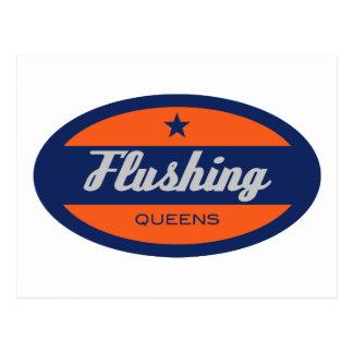 Flushing Postcard