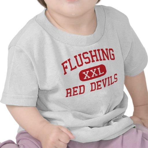 Flushing - Red Devils - High - Flushing New York Shirts