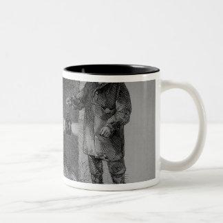 Flushing the Sewers Two-Tone Coffee Mug