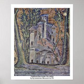 Flußlandschaft Details: The Village Poster