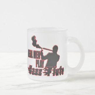 flute2 frosted glass coffee mug