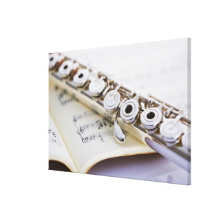 Flute 2 canvas print