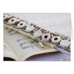 Flute 2 greeting card