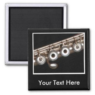 Flute 2 Inch Square Magnet