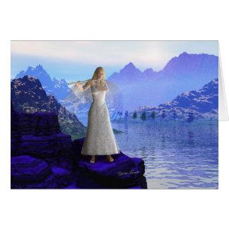 Flute Angel 2 Card