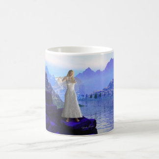 Flute Angel 2 Classic White Coffee Mug