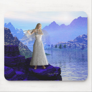 Flute Angel 2 Mouse Pad