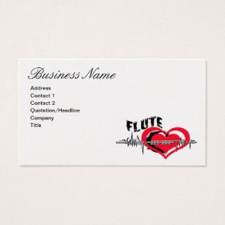 Flute Business Card