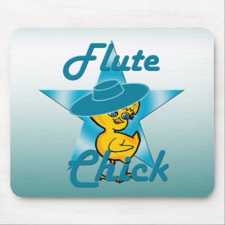 Flute Chick #7 Mouse Pad