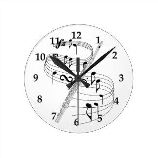 Flute Clocks