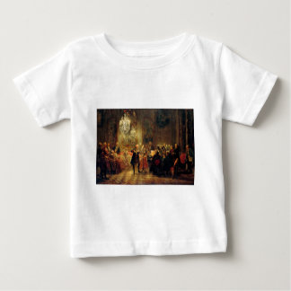 Flute Concert with Frederick the Great Baby T-Shirt