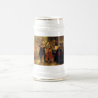 Flute Concert with Frederick the Great Beer Stein