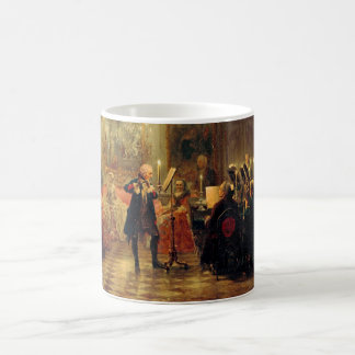 Flute Concert with Frederick the Great Magic Mug