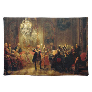 Flute Concert with Frederick the Great Placemat