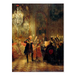 Flute Concert with Frederick the Great Post Cards