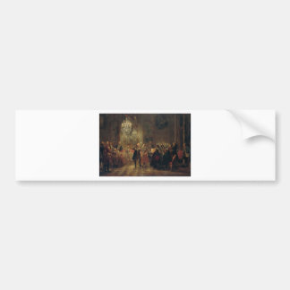 Flute Concert with Frederick the Great Sanssouci Bumper Sticker