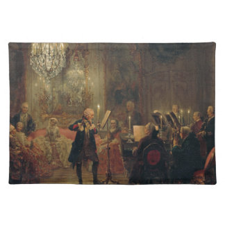 Flute Concert with Frederick the Great Sanssouci Placemat