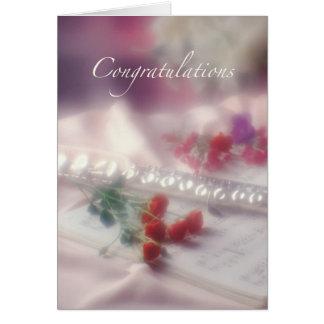 Flute Congratulations Card