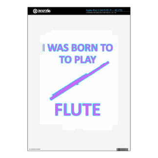 Flute Designs Skin For iPad 3