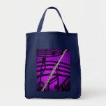Flute Flutist Musician Shopping Bag