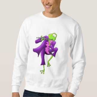 Flute Frog Sweatshirt