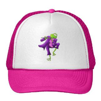 Flute Frog Trucker Hat