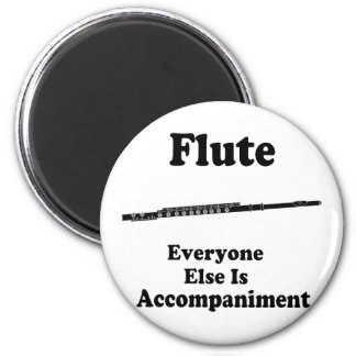 Flute Gift 2 Inch Round Magnet