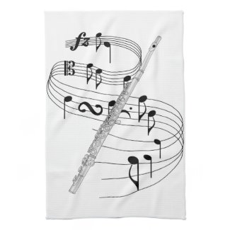Flute Hand Towels