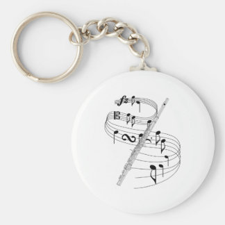 Flute Keychains