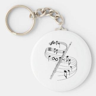 Flute Keychain