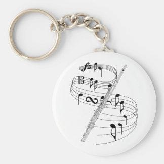 Flute Key Chain