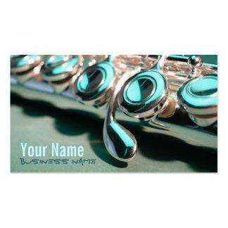 Flute Keys Business Cards