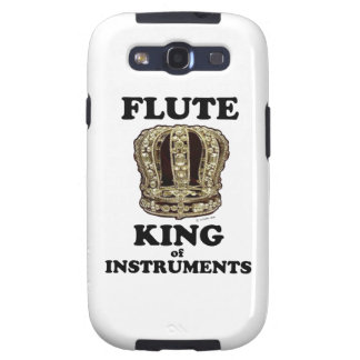 Flute King of Instruments Galaxy S3 Covers