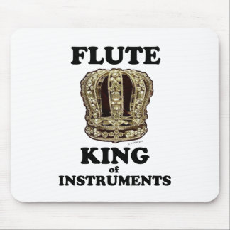 Flute King of Instruments Mouse Pad
