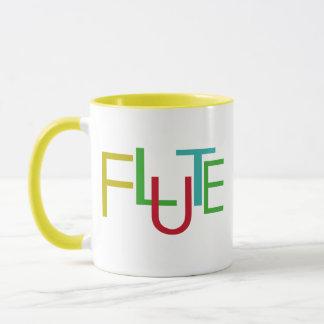 Flute Letters Mug
