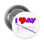 Flute Love Pin