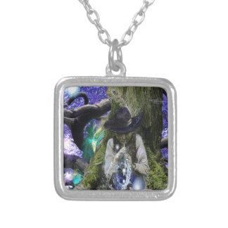Flute Magic Silver Plated Necklace