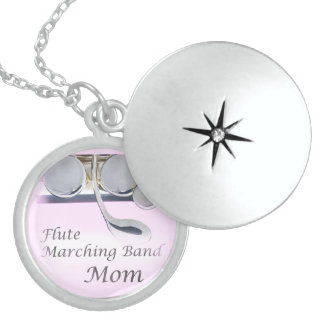 Flute Marching Band Mom Neck Less Jewelry