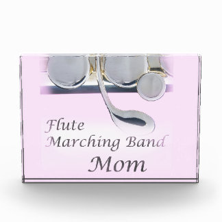 Flute Marching Band Mom Octagonal Award